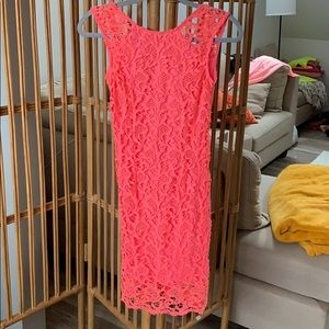 Sabo Skirt Bright Pink Dress